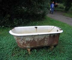 Демонтаж ванны