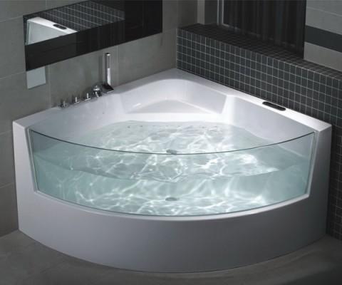 Угловые ванны. Особенности выбора и установки