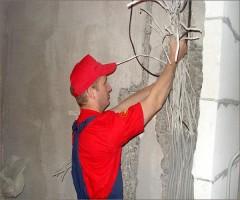 Замена проводки в жилых помещениях