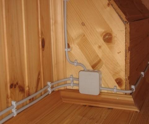 Замена электропроводки на даче