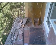 Демонтаж балкона